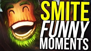 SCARIEST SMITE GAME OF ALL TIME! (Smite Funny Montage) also amnesia jumpscares