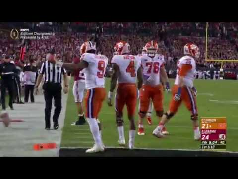 Alabama vs Clemson Highlights 2017 CFB National Championship