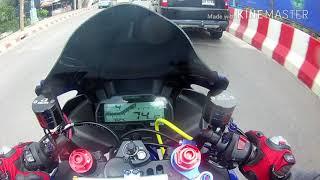 Yamaha R15 #ขับซิ่งหนีฝนก็สนุกดีนะ