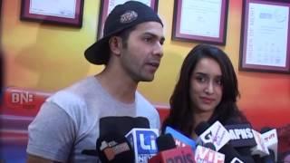 Varun Dhawan And  Shraddha Kapoor Interview Film ABCD Pramoot  At Red FM 93 5