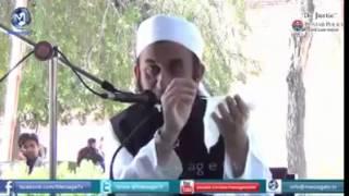 insaf karoo maulana Tariq Jameel