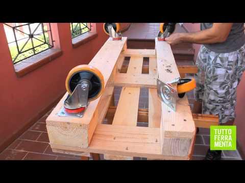 Download pallet faidate come costruire un divanetto in - Costruire un mobile in legno ...