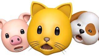 Three Little Kittens Nursery Rhyme Song for Kids Animoji Singing Animals
