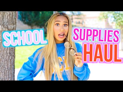 Xxx Mp4 School Supplies Haul 2016 BACK TO SCHOOL WITH MYLIFEASEVA 3gp Sex