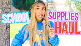 School Supplies Haul 2016! | BACK TO SCHOOL WITH MYLIFEASEVA