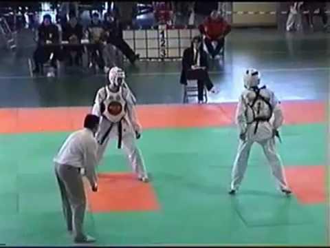 patadas espectaculares de Taekwondo
