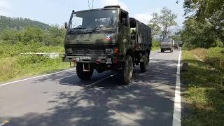 INDIAN ARMY TRUCK RALLY!! 2017