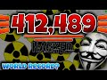 412,489!!! 132 Mass Bots!! Insane World Record! ★ Agar.io Hacked? 184k+ Score!