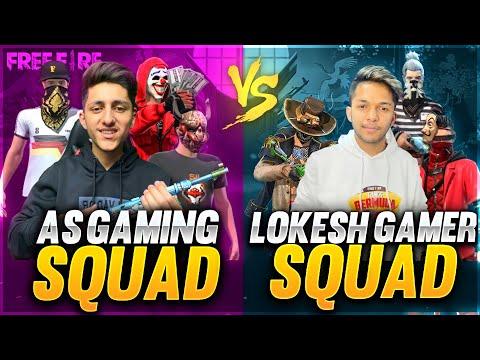 A s Gaming Squad Vs Lokesh Gamer & Gyan Gaming Chaddi Challenge 😂😂😂 Squad Who Will Win