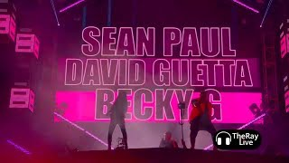 David Guetta & Sean Paul ft. Becky G - Mad Love [Ultra Music Festival 2018]