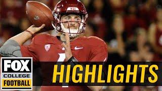 Montana State vs Washington State | Highlights | FOX COLLEGE FOOTBALL