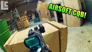 Close Quarters Taclight & Sig SG 552 Gameplay (Airsoft Insight Interactive Gameplay/Commentary)