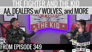Theo Von talks about AA, Dealers with Wolves, and Feeling Good