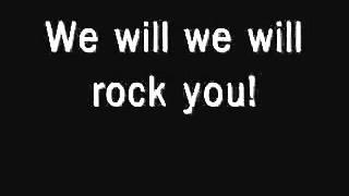 Queen- We  will rock you con letra
