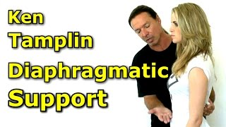Increase Vocal Range with Diaphragmatic Support - Ken Tamplin Vocal Academy