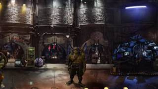 360VR: Teenage Mutant Ninja Turtles 2: Out of the Shadows - the lair (2016)