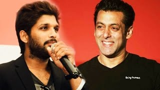 I Was A SRK Fan, But Now Salman Khan Is My Favorite - South Star Allu Arjun