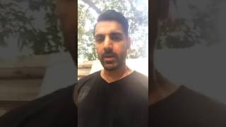 JOHN ABRAHAM SHOWING HIS CARS,BIKES,HOUSE, FAMILY AND FRIENDS