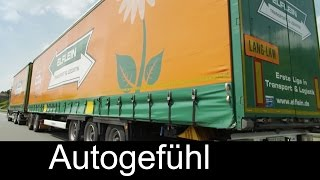 Daimler Mercedes Truck Long Combination Vehicle Gigaliner field test Lang-Lkw Feldversuch