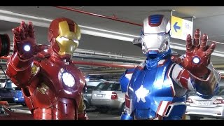 Iron Man and Iron Patriot Costume/Cosplay
