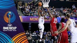 United States vs Panama - Highlights - Group C - FIBA AmeriCup 2017