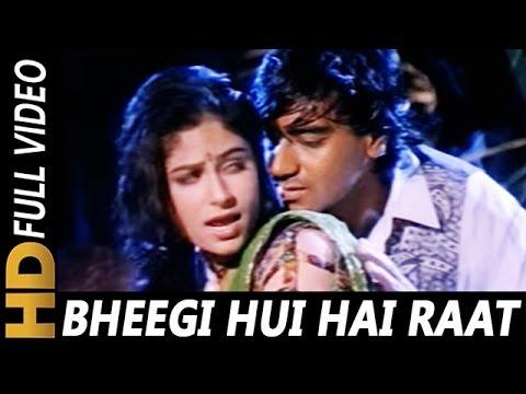 Xxx Mp4 Bheegi Hui Hai Raat Magar Kumar Sanu Kavita Krishnamurthy Sangram 1993 Rain Song Ajay Devgan 3gp Sex