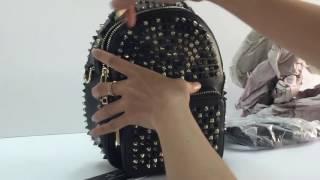Balo gắn đinh mẫu cực hot 2017 xinh xắn size lớn hàng hiệu đẹp