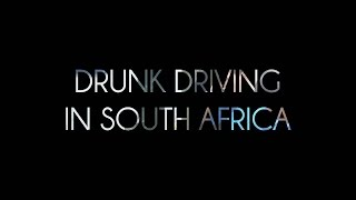 Drunk driving in South Africa