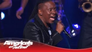 """Earth, Wind & Fire - """"September"""" & """"My Promise"""" Performance - America's Got Talent 2013 Finale"""
