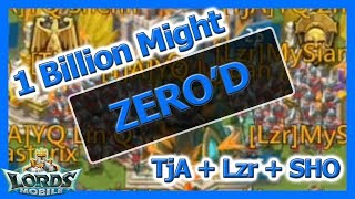 1 Billion Might? Not For Long - Lords Mobile
