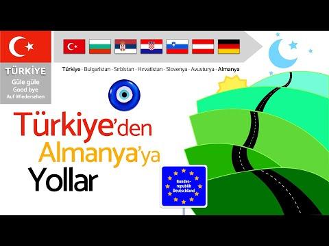 Türkiye'den Almanya'ya Yollar