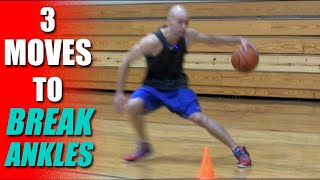 3 Basketball Moves To Break Ankles! How To: Best Crossover Moves