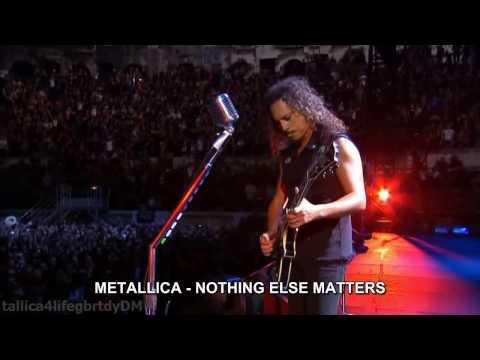 METALLICA Nothing Else Matters HD español traducida subtitulado