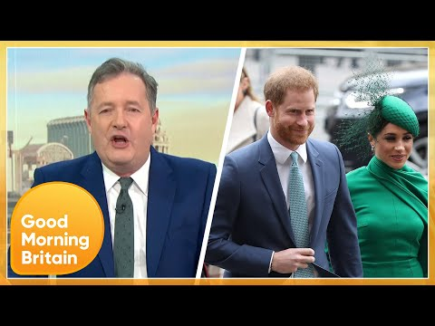 Piers and Susanna Clash Over Prince Harry & Meghan Ahead of Their TV Interview GMB