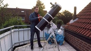 Observing Night (Moon through my Telescope)