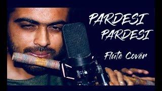 Pardesi Pardesi jana nahi / Unplugged / Sad / Flute cover/ ft.Karan thakkar /Divine flute