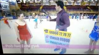 Lowri Anwen Jones and Friends on S4C at Planet Ice Cardiff