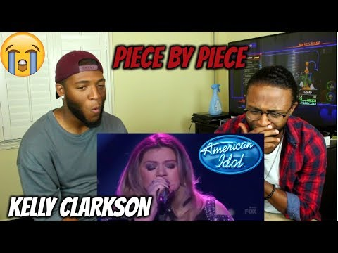 Kelly Clarkson - Piece By Piece (American Idol The Farewell Season) (REACTION)