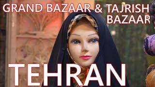 TEHRAN // IRAN // GRAND BAZAAR & TAJRISH BAZAAR // TRIP (2018)