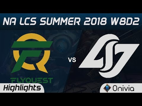 Xxx Mp4 FLY Vs CLG Highlights NA LCS Summer 2018 W8D2 Flyquest Vs Counter Logic Gaming By Onivia 3gp Sex