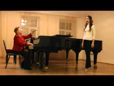 Мастер класс по вокалу с детьми видео