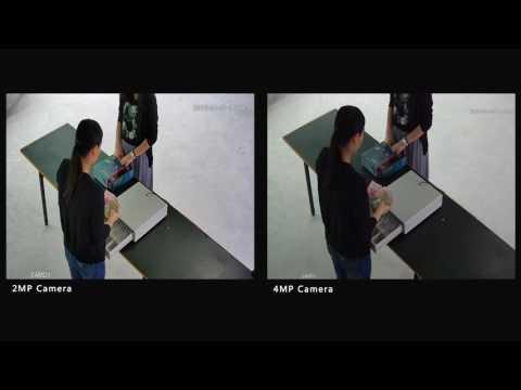 Cash Register CCTV Camera Comparison - 2MP vs. 4MP