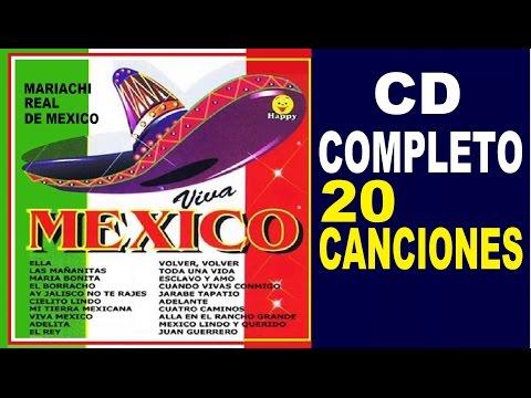 VIVA MEXICO - CD COMPLETO - Mariachi Real de Mexico