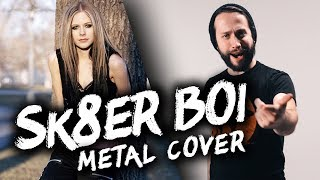 Sk8er Boi - Avril Lavigne (POP PUNK/METAL VERSION) Cover by Jonathan Young & Lee Albrecht