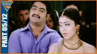 Main Hoon Gambler Hindi Dubbed Movie  Part 05/12 -    Jr. NTR, Shriya Saran, Genelia, Ramya Krishnan