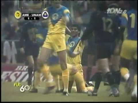 Final Temporada 1990 1991 América Vs. Pumas UNAM 3 2