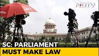 """""""Time Has Come For Parliament To Keep Criminals Away"""", Says Supreme Court"""
