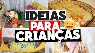 IDEIAS PARA CRIANÇAS: FESTA DO PIJAMA! RECEITAS, BRINCADEIRAS E DIY INCRIVEIS