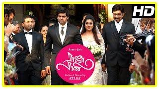 Raja Rani Tamil Movie Scenes | Title Credits | Arya weds Nayanthara | Sathyaraj | Santhanam