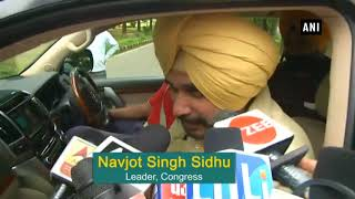 Navjot Sidhu visits Pakistan High Commission, seeks govt permission to visit Pak